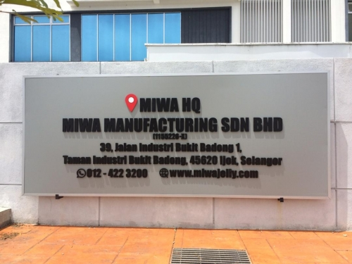 MIWA Manufacturing Sdn Bhd at Ijok